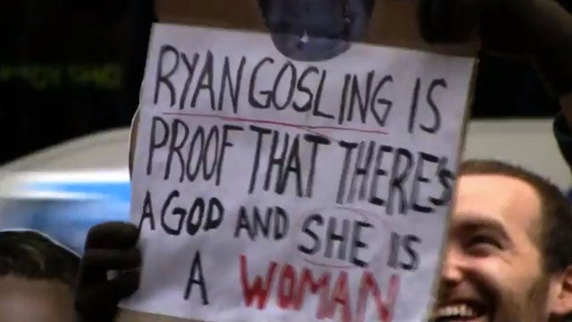 Heroes Protest Ryan Gosling Losing 'Sexiest Man Alive' Title Outside People Offices