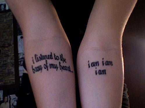 All The Sad Young Literary Tats