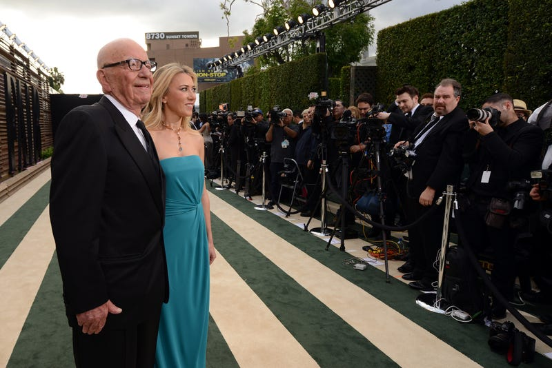 Rupert Murdoch's Oscar Party Date Was a Silicon Valley Alpha Investor