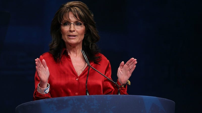 Sarah Palin Would Like President Obama to Grow a Big Stick