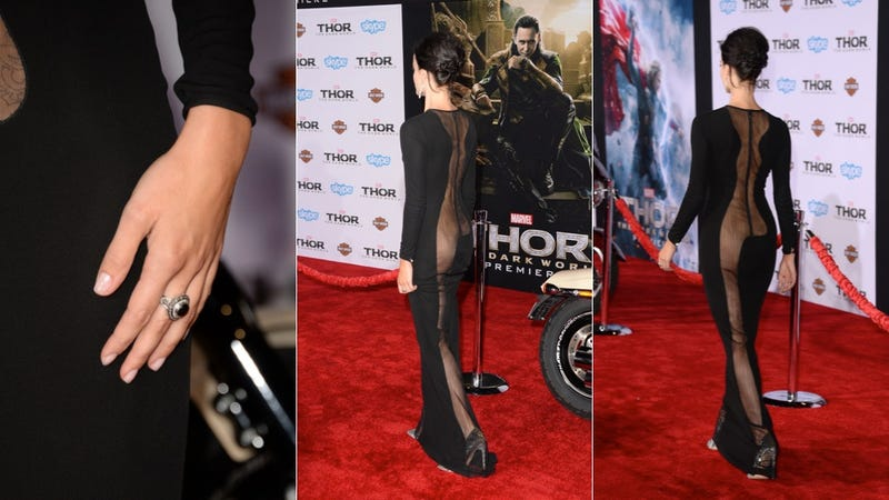 Jaimie Alexander -- aka Sif in Thor -- Has Something To Show You