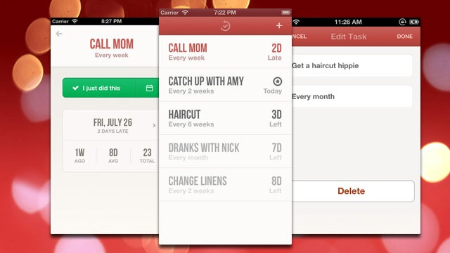 Radar Reminds You to Keep Up with Recurring Tasks