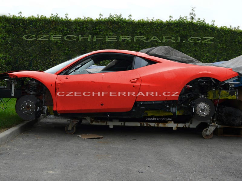 Ferrari F450: Exploded Before It Even Hits The Streets!