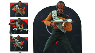 Today is a good day to not die, but ogle this wonderful Worf figure!