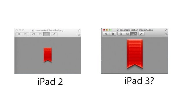 Are iBook 2's High-Res Images Meant for the iPad 3?