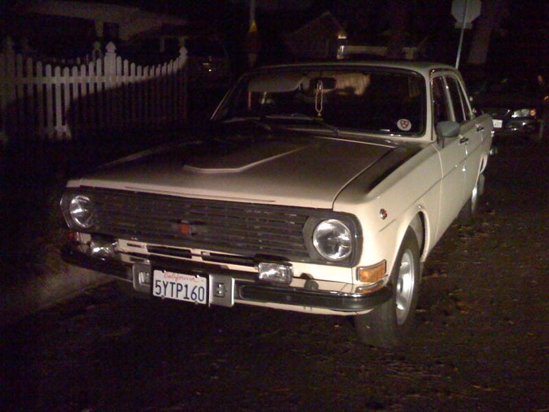 GAZ Volga 24-10 Brings Glasnost To Los Angeles