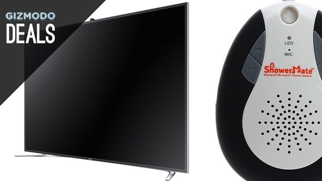 The 4K TV You've Been Waiting For, 20% Off iTunes, and More Deals