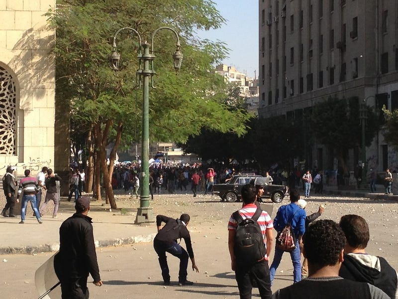 Dispatches from Cairo: Even the Police Throw Rocks Here