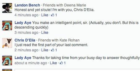 Chris D'Elia Seems Like a Jerk
