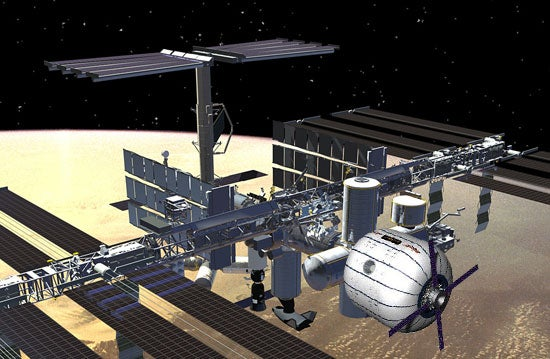 NASA Wants to Add an Inflatable Bounce House Module to the International Space Station