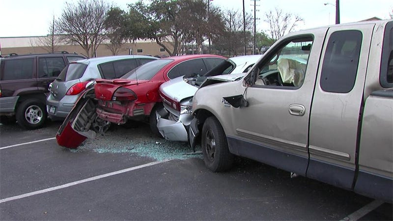 A Slurpee Brain Freeze Was Blamed For This Five Car Crash In Texas