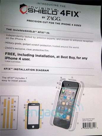 Best Buy Giving Free invisibleSHIELDS To Unhappy iPhone 4 Owners?