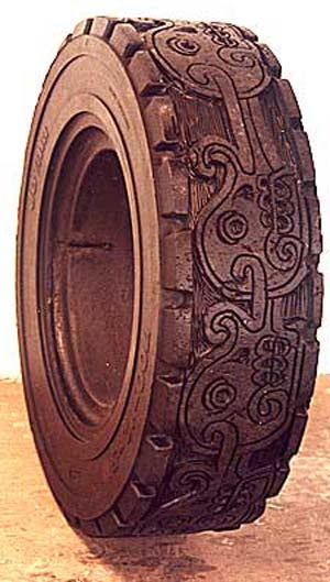 The Tire Art Of Romero Betsabeé