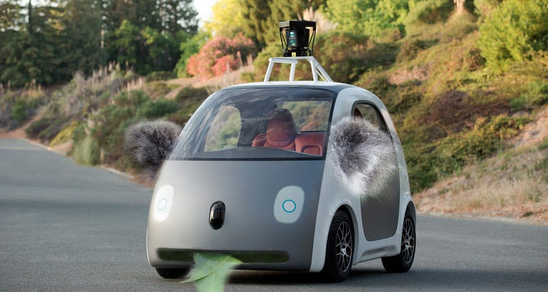 These Are Your Ten Biggest Fears About The Google Car