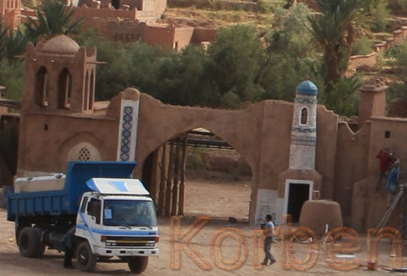 Prince Of Persia: The Movie: The Set