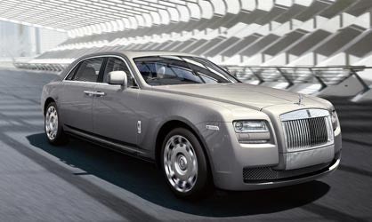 Extended Wheelbase Rolls-Royce Ghost gives you 6.7 inches