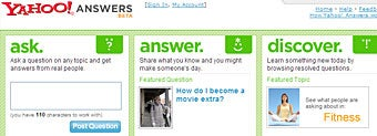 Ask questions, get Yahoo! Answers