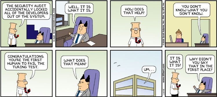 Dilbert's Boss Is Probably Zoltan in Disguise