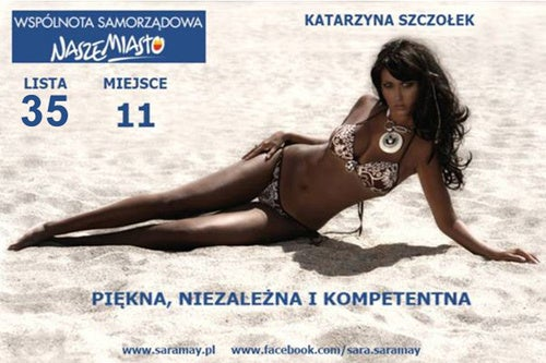Polish Politician Hopes Bikini Bod Will Earn Votes