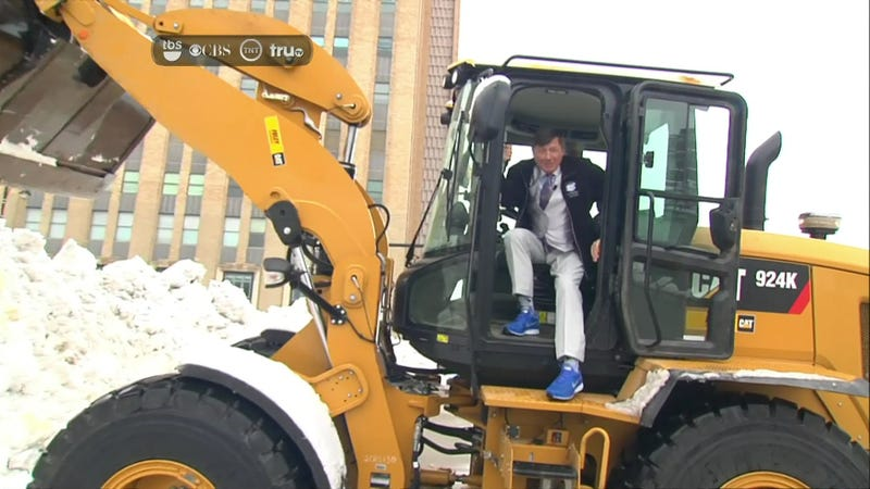 Please Keep Craig Sager Away From Heavy Machinery