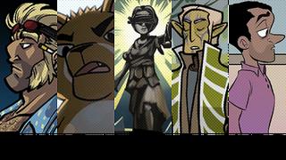 Sunday Comics: Dark Spirit Has Invaded