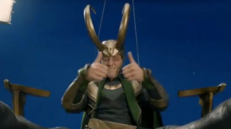 The Avengers gag reel assembles a lot of laughs