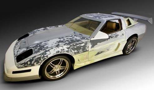 Nice Price Or Crack Pipe: The $95,000 Lazer F/X 1987 Corvette