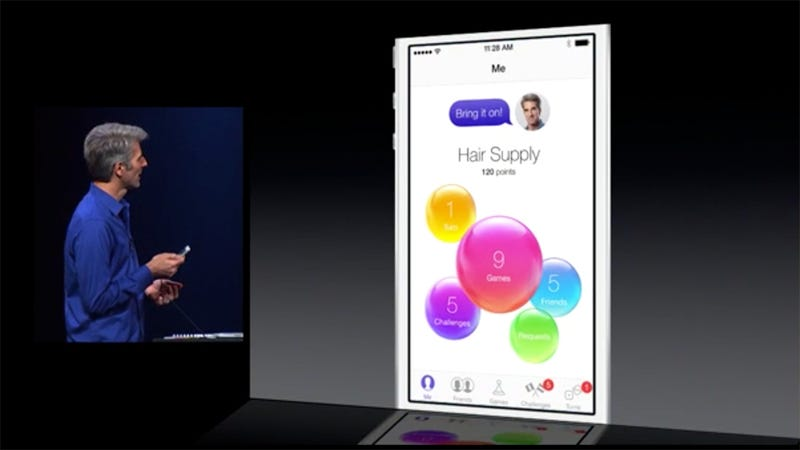 Meanwhile, At WWDC, iOS Game Center Runs Out Of Green Felt