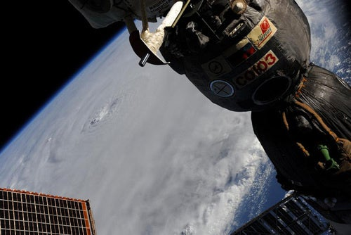 Hurricane Earl As Seen From The Space Station