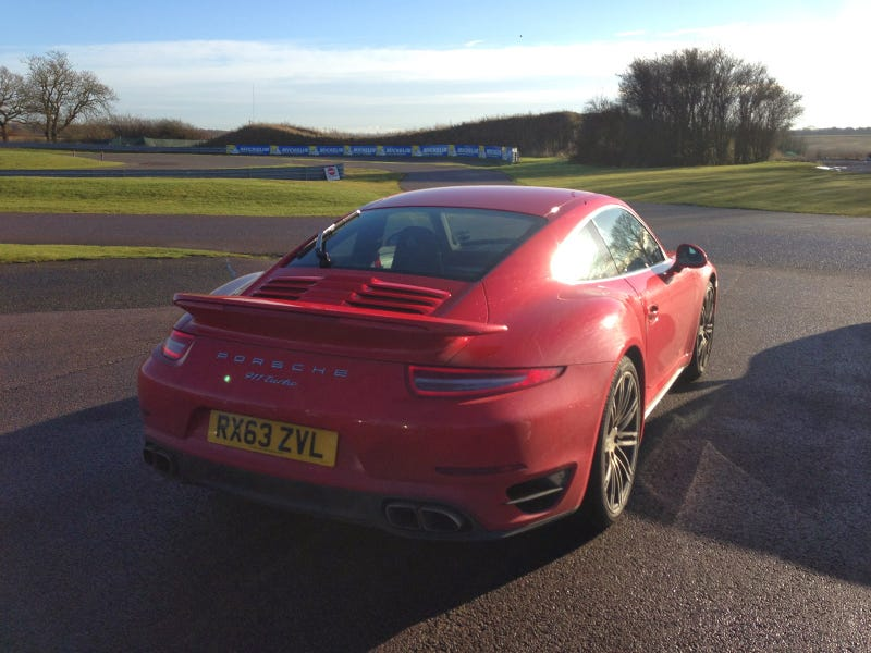 2014 Porsche 911 Turbo Track Test Review