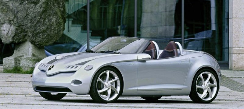 Mercedes Doesn't Need A Roadster Smaller Than The SLK