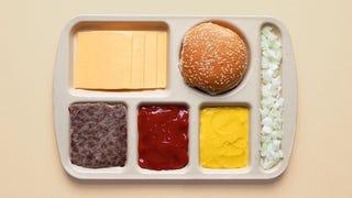 Photos show popular food deconstructed neatly