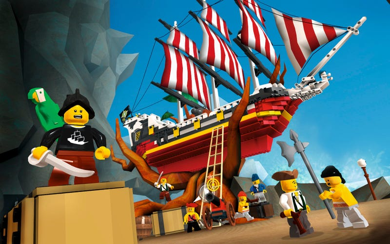 These Are the First Screenshots of the Lego Universe Beta