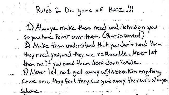 Thoughtful Pimp Explains 'Rules 2 da Game of Hoez'