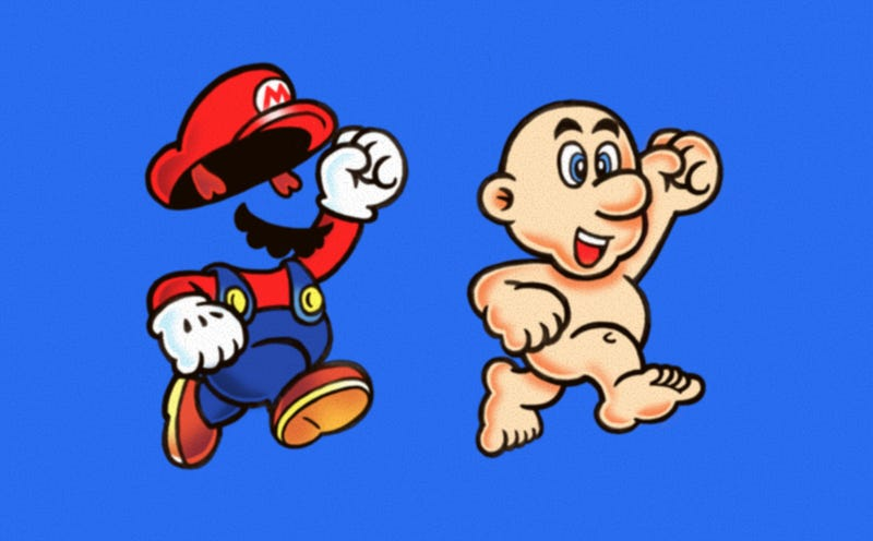 What's Underneath, Mario?