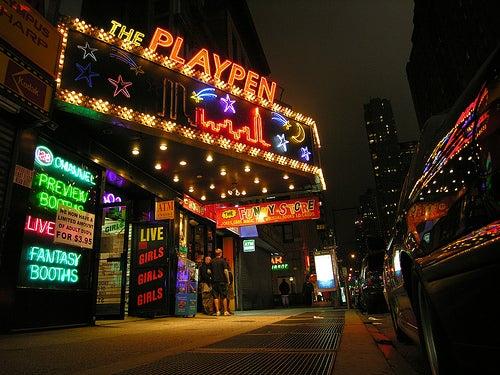 The Last Live Nude Peepshow Girls In Manhattan