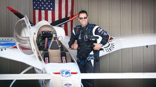 Chip Yates Officially Breaks Electric Airplane Speed Record