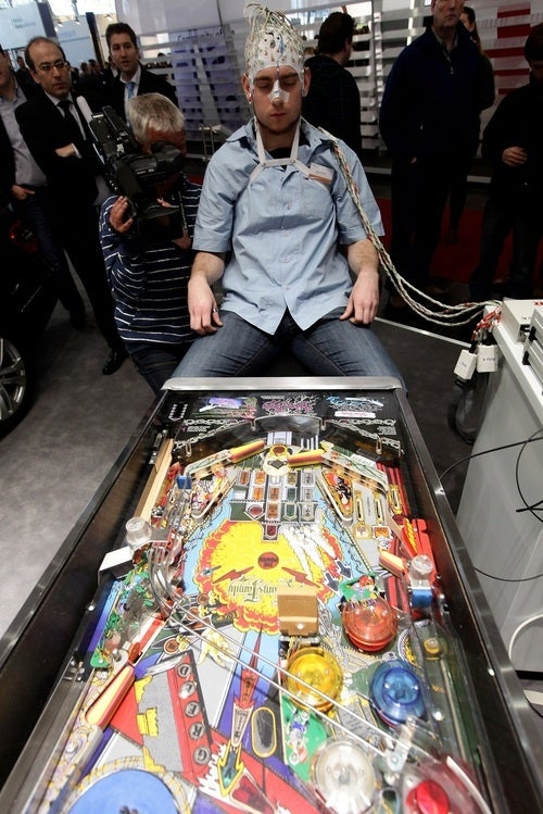 Is There Some Way To Be A Telekinetic Pinball Wizard Without Looking Demented?