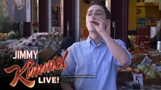 Jimmy Kimmel Sold Sugar Water as Pressed Juice to a Bunch of Idiots