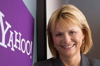 Yahoo CEO Lays Off Workers, Not Swear Words