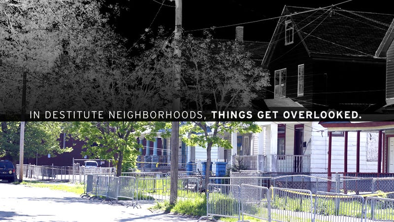 Cleveland Home Reminds Us Some Police Don't Rush to Poor Neighborhoods