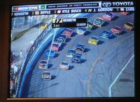 2008 Daytona 500: Lap 109, Sweet God in Heaven. It's More Than Half Over