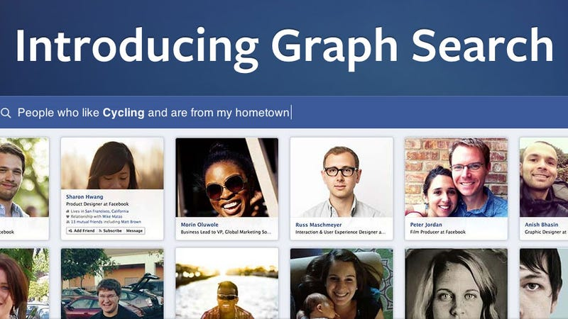 Facebook Announces Graph Search Beta to Help You Discover New People, Places, and Things via Your Friends