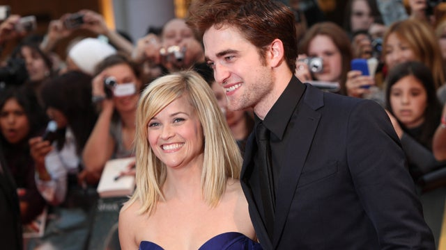 Robert Pattinson Is Living in Reese Witherspoon's House
