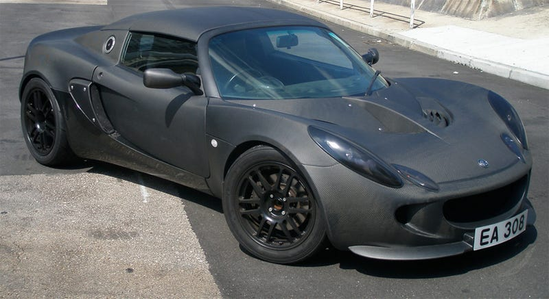 All-Carbon Fiber Lotus Elise Poses Interesting Question