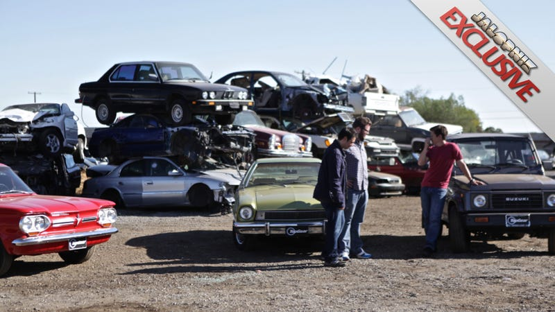 Top Gear USA Hosts Tempt Death By Corvair, Pinto And Samurai