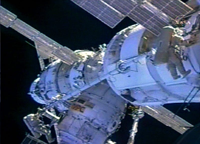 Space Station Nearly Obliterated, No Big Deal