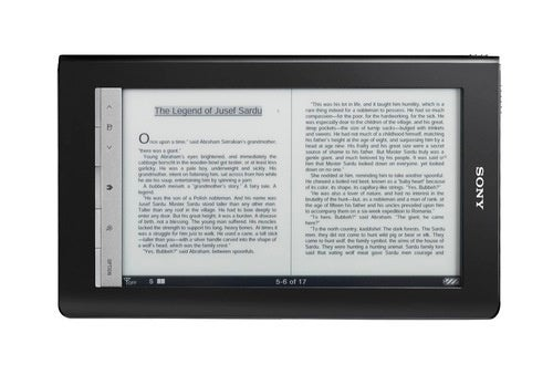 Sony Daily Edition eReader Gallery