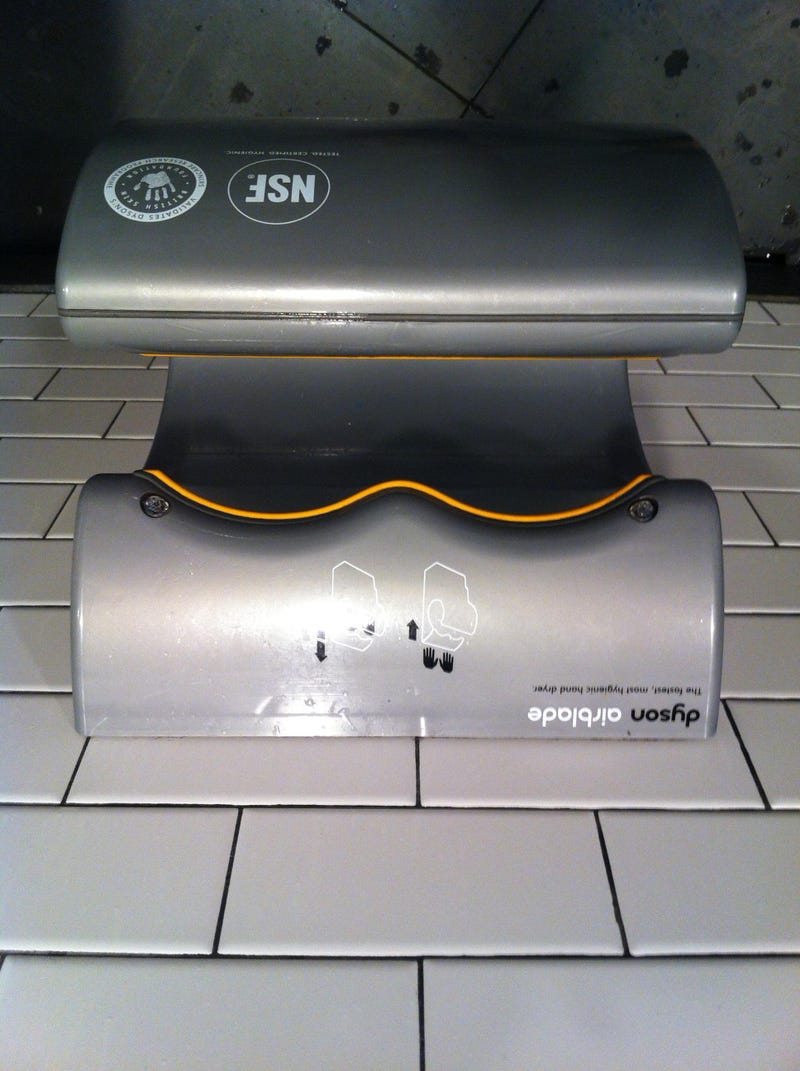THE TOP THREE HAND DRYERS IN THE GAME IN 2013