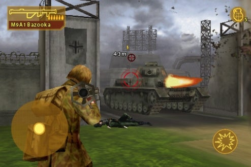 Gameloft Launches Brothers In Arms: Hour of Heroes For iPhone